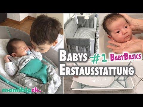 #1 Babys Erstausstattung   Das Braucht Ihr Wirklich 👶🏼🍼   Mamiblock