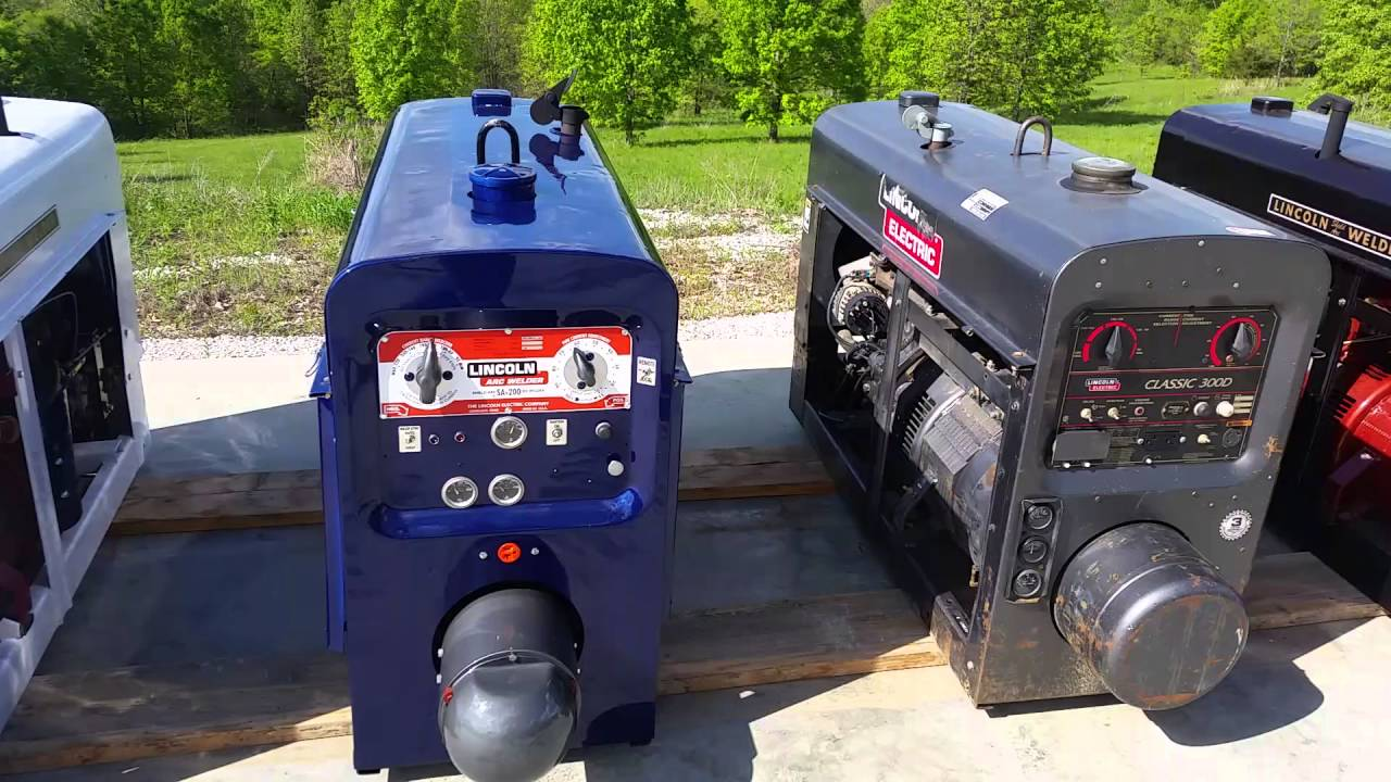 Lincoln Welders For Sale >> Lincoln Welder Sa200 For Sale Youtube