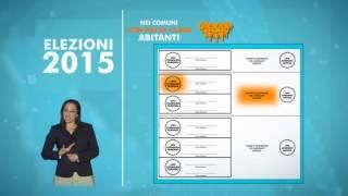 Elezioni Comunali e Regionali 2015 -