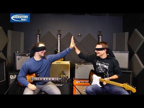 Blindfold Clean/Blues Amp Test - Modelling vs Solid State vs Tube