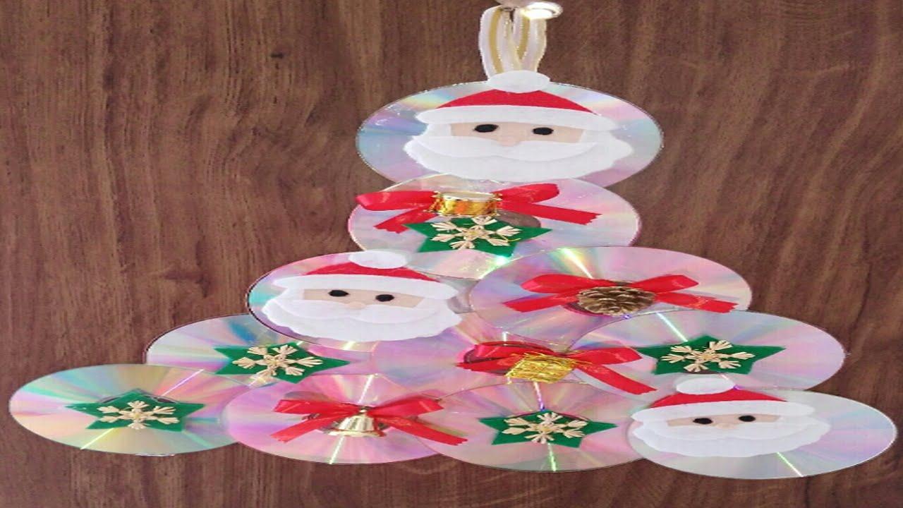 como hacer adornos de navidad para puertas manualides