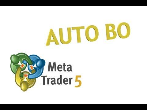 Автоматическая торговля бинарными опционами в метатрейдере 5