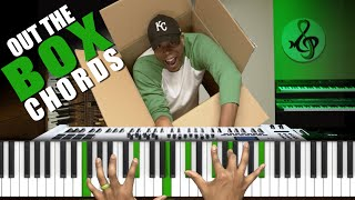 How to Play Chords OUT THE BOX   Chromatic Tritones & Gospel Drop Chords