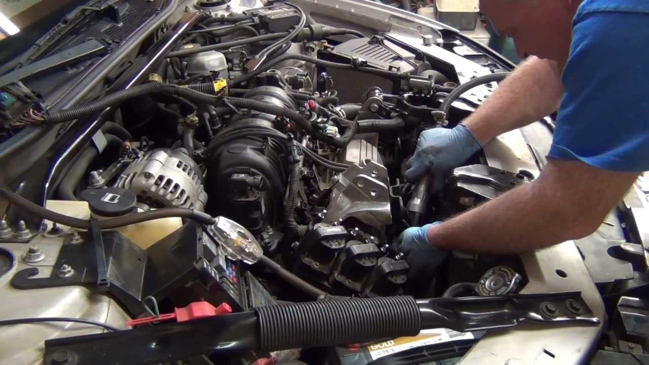 part 1 3 8 03 impala intake manifold mov youtube 2003 impala engine diagram [ 1280 x 720 Pixel ]