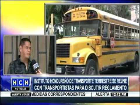 IHTT y transportistas se reunen este día en Tegucigalpa