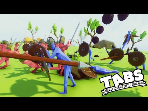 TABS EPIC BATTLES!  Helms Deep, Ninja Revolt, Toast!  (Totally Accurate Battle Simulator Gameplay)