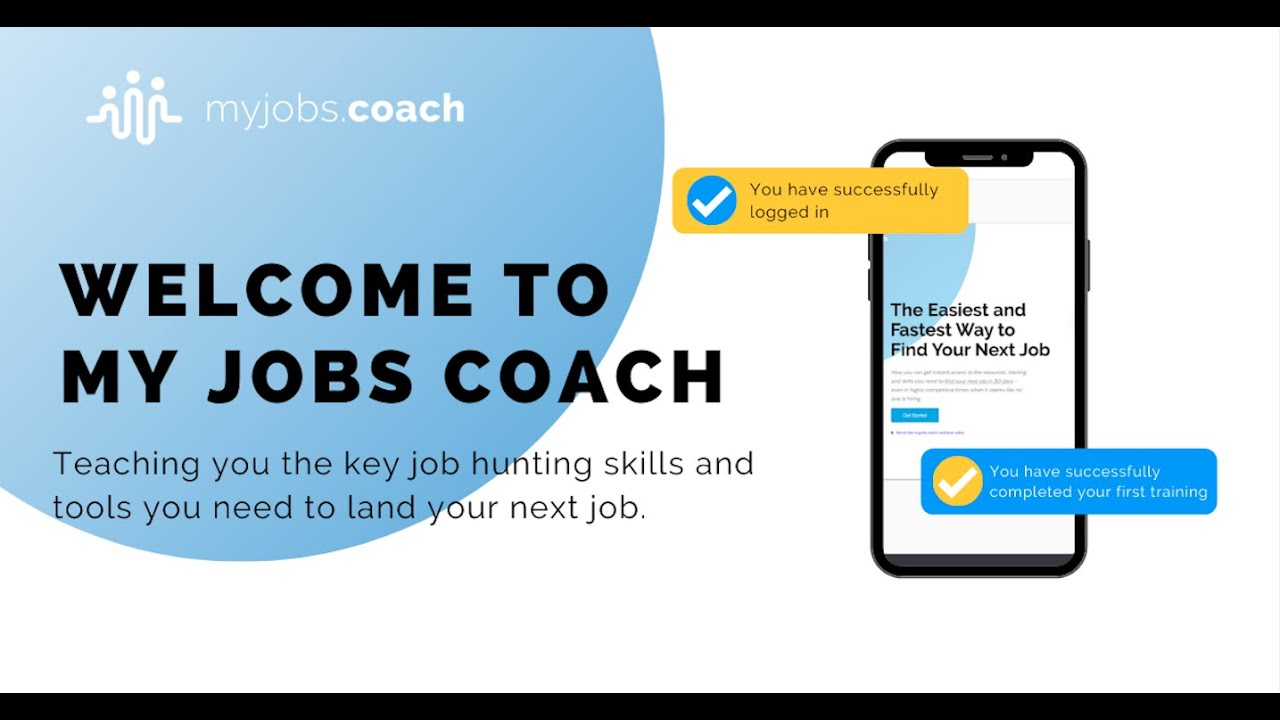 1. Introduction To My Jobs Coach