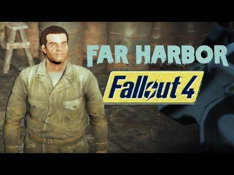 Fallout 4 (Hull Breach) Siding With Machete Mike Far Harbor DLC HD
