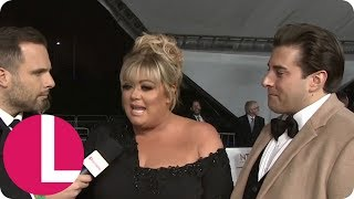 Gemma Collins Reveals Why She Argued Back With Dancing on Ice's Jason Gardiner | Lorraine