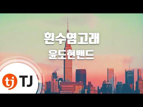 [TJ노래방] 흰수염고래 - 윤도현밴드 (Blue whale - Yoon Do Hyun Band) / TJ Karaoke