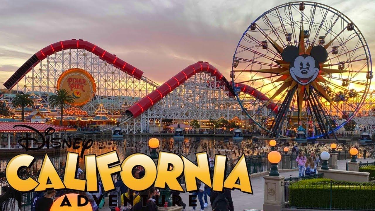 Disney California Adventure Vlog January 2020 Youtube