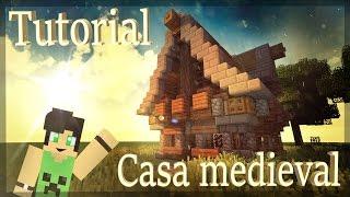 minecraft tutorial como casa uma medieval