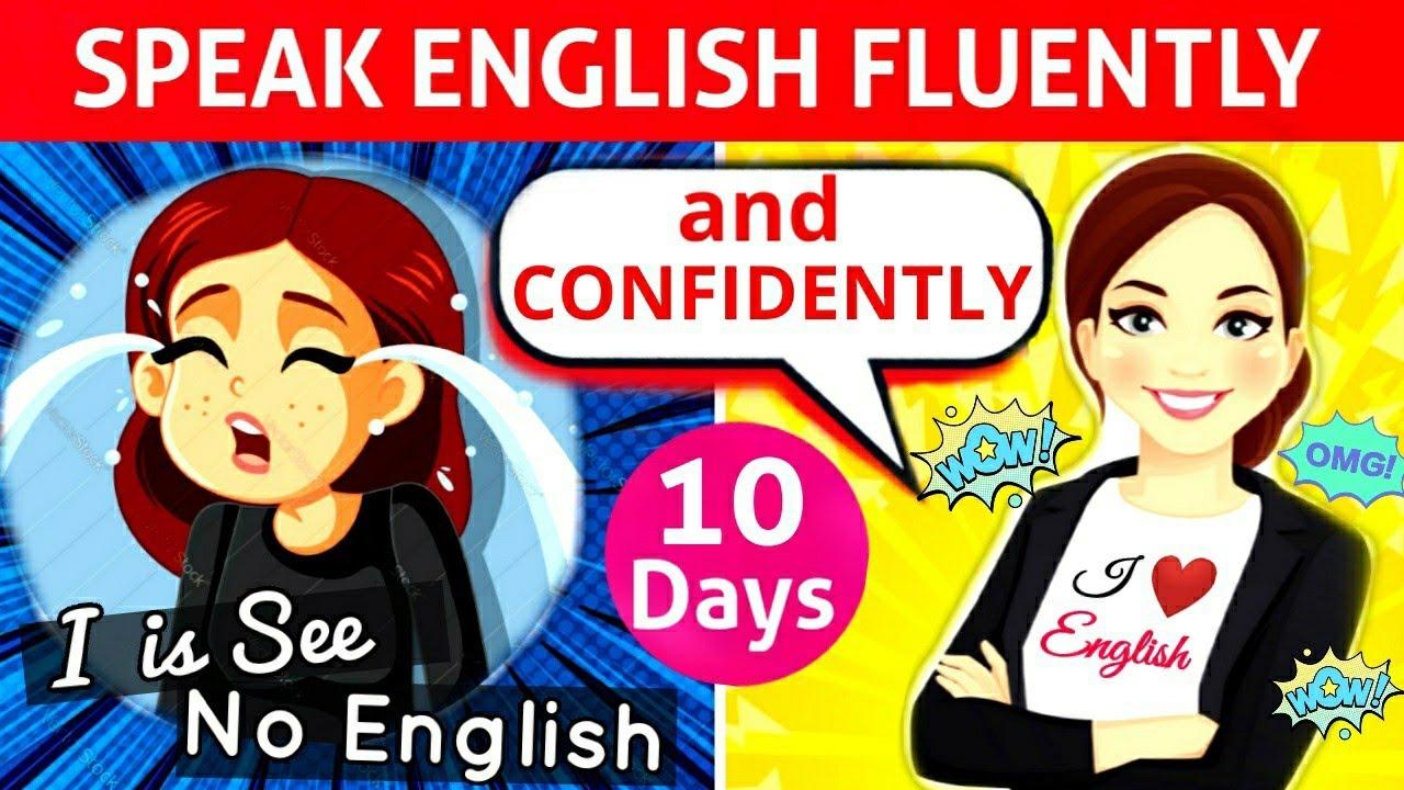 How to Speak Fluent English in 10 Days | Speak English fluently and confidently |Best Tips & Tricks