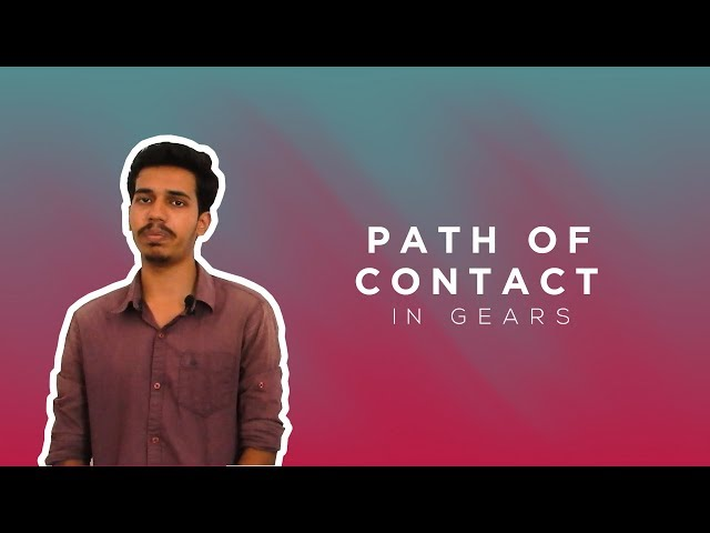 Path of contact in gears