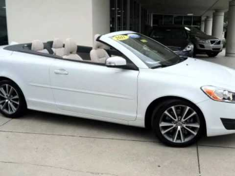 2011 VOLVO C70 2dr HARDTOP CONVERTIBLE LEATHER AUTOMATIC TRANS