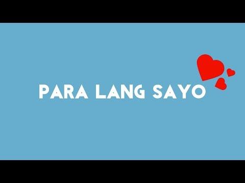 Perkins Twins - Para Lang Sayo [Lyric Video]