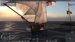 Naval Action Beta - PvP Yacht vs Lynx & Cutter tutorial