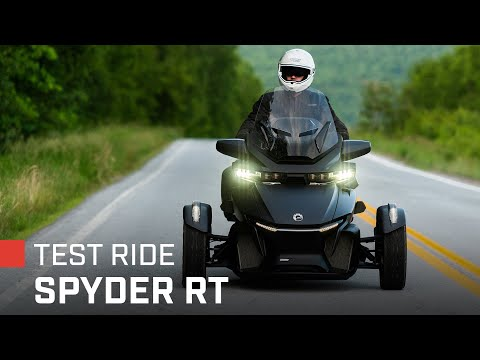Download 2022 Can-Am Spyder RT Sea-to-Sky Test Ride & Review