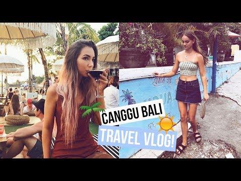 CANGGU BALI TRAVEL VLOG + Villa Tour | Asha Tregear