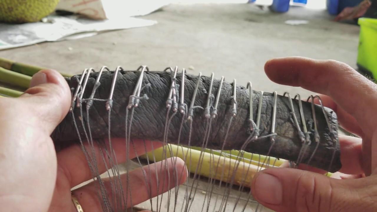 Cách Buộc Lưỡi Câu Lươn Bao Chắc l Eel Fishing