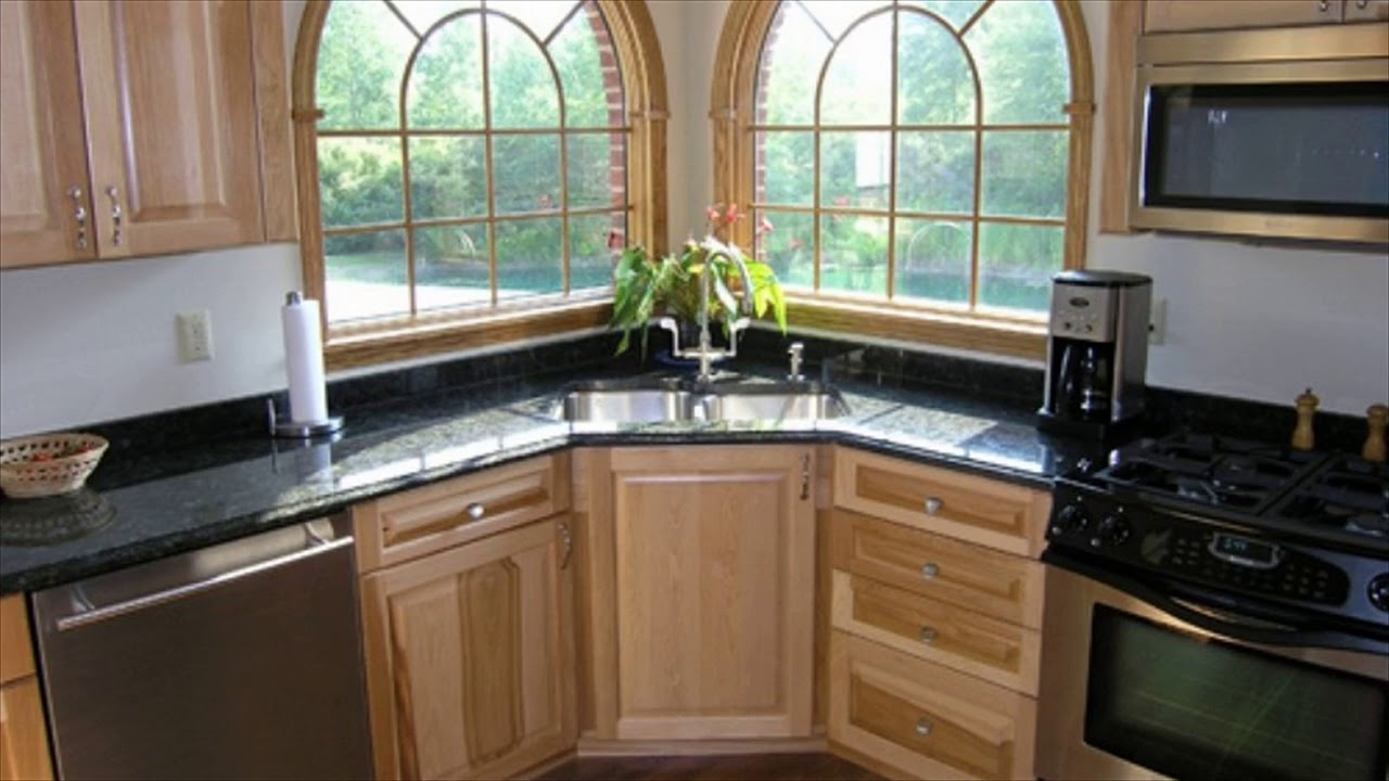Cool Kitchen Corner Sink Ideas - YouTube on Kitchen Sink Ideas  id=32201