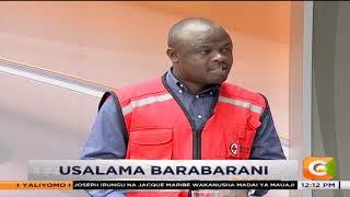 Kelvin Kiprono afisa kutoka Red Cross na mtaalam wa huduma ya kwanz...