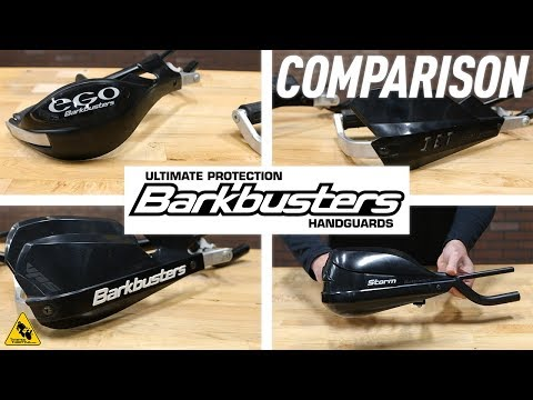 Barkbusters Motorcycle Handguards Comparison | TwistedThrottle.com