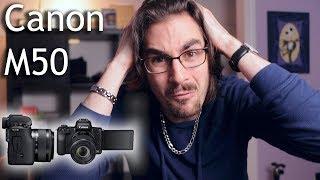 Canon M50 thoughts from M3 & M6 vlogger - 4k mirrorless!