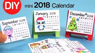 How to Make a 2018 Calendar | Easy DIY Fun Craft