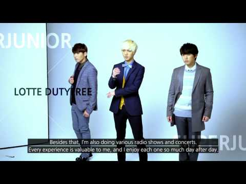 Superjunior in AD Shooting of Lotte Duty Free ENG ver (2)