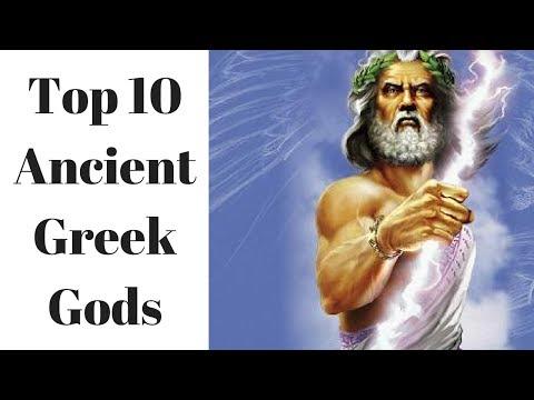 Top 10 Ancient Greek Gods ✔✔
