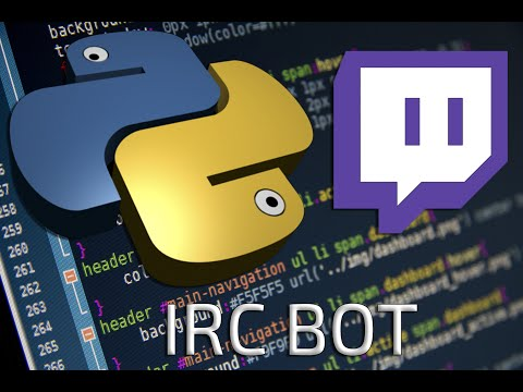 Make your own Twitch Chat bot with Python! // Connect to Twitch IRC with Python
