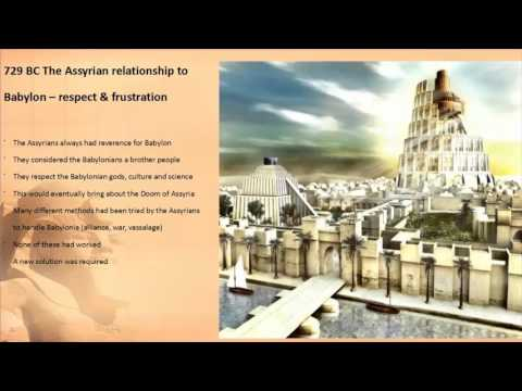 Events of the 720s BC p1 An Assyrian King in Babylon