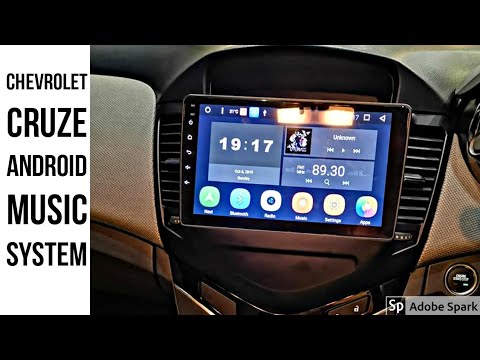 Installed Android Stereo 9inch Inside Chevrolet Cruze And Reveiw My Stereo