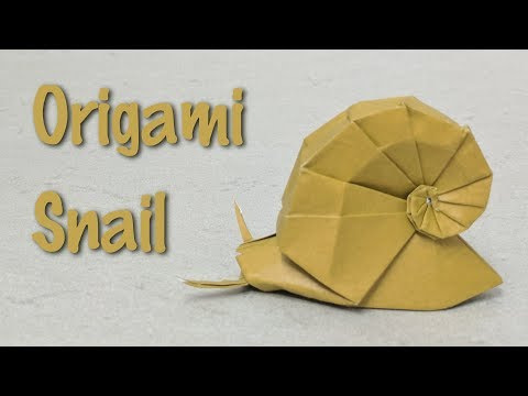 Shervine#Origami#Conch origami | Animais de origami, Artesanato ... | 360x480
