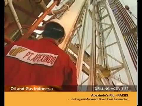 DRILLING ACTIVITIES - Apexindo's Offshore Rig RAISIS #3