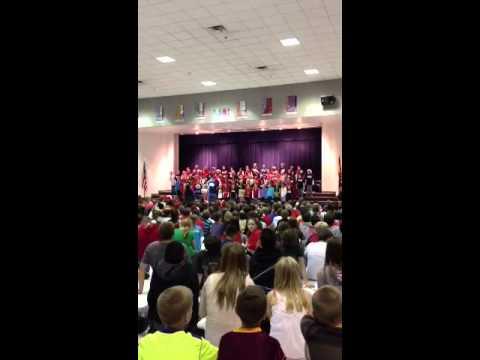"Basha Elementary School ""We Wish You A Merry Christmas"""