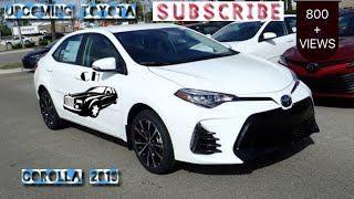 Pakistan Upcoming new Toyota Corolla 2019 review
