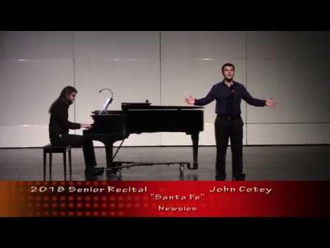Fraser High School  - 2018 Senior Recital  - John Cotey