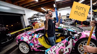 PRAYING TO THE LAMBORGHINI GODS, BUT CAN HE FIX IT?  *ALEX CHOI VLOG*