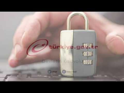 "e-devlet kapısı - www.turkiye.gov.tr  | ""şifre alma süreci"""