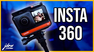The Insta360 One R is... interesting...
