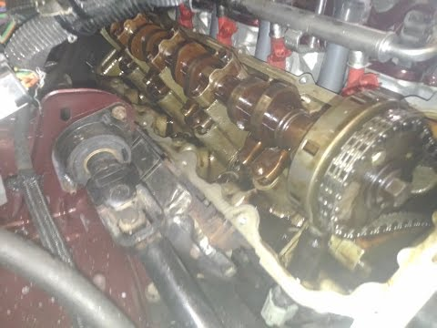 How to install performance camshafts in a V8 4.7 Jeep/Dodge with solid lifters. Part 2