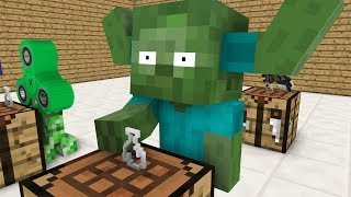 Kindergarten Monster School: Alchemy - Minecraft Animation