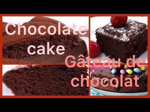 recettes-de-gâteau-au-yaourt-et-chocolat-ultra-moelleux-||-easy-chocolat-cake-recipe-||-gâteau
