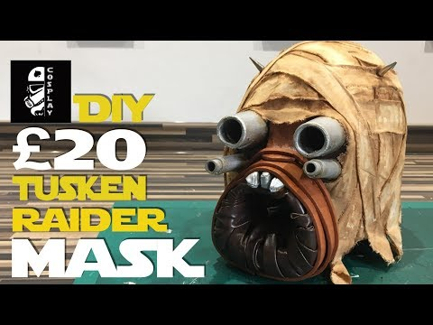 £20 DIY Tusken Raider Mask   #20PoundPropChallenge (Ace Vs. Buckethead Props)