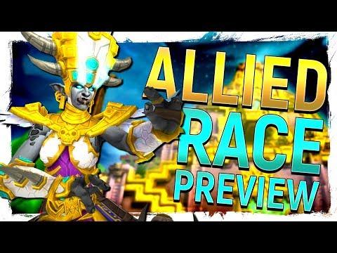 GLORIOUS! Zandalari Troll Allied Race Preview - WoW: Battle for Azeroth