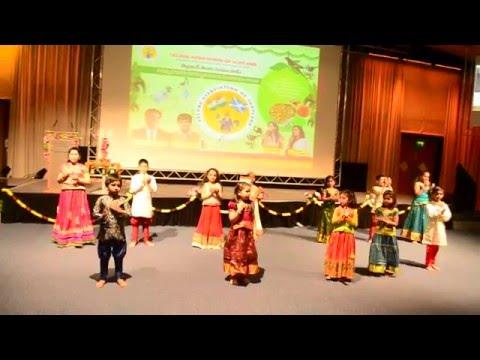 Patriotic Song - Desam Manade Tejam Manade - Jai Telugu Movie Song - Mahita & Manogna Dance
