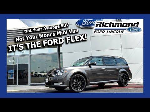 Ford Flex Review:  Spacious, Unique, Versatile
