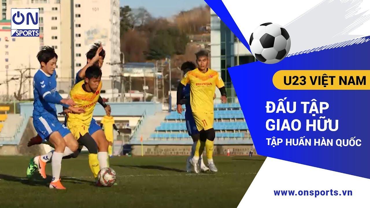Bản tin thể thao 18/12 – On Sports: U23 Việt Nam có trận đấu tập đầu tiên tại Hàn Quốc